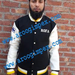 collage varsity jacket
