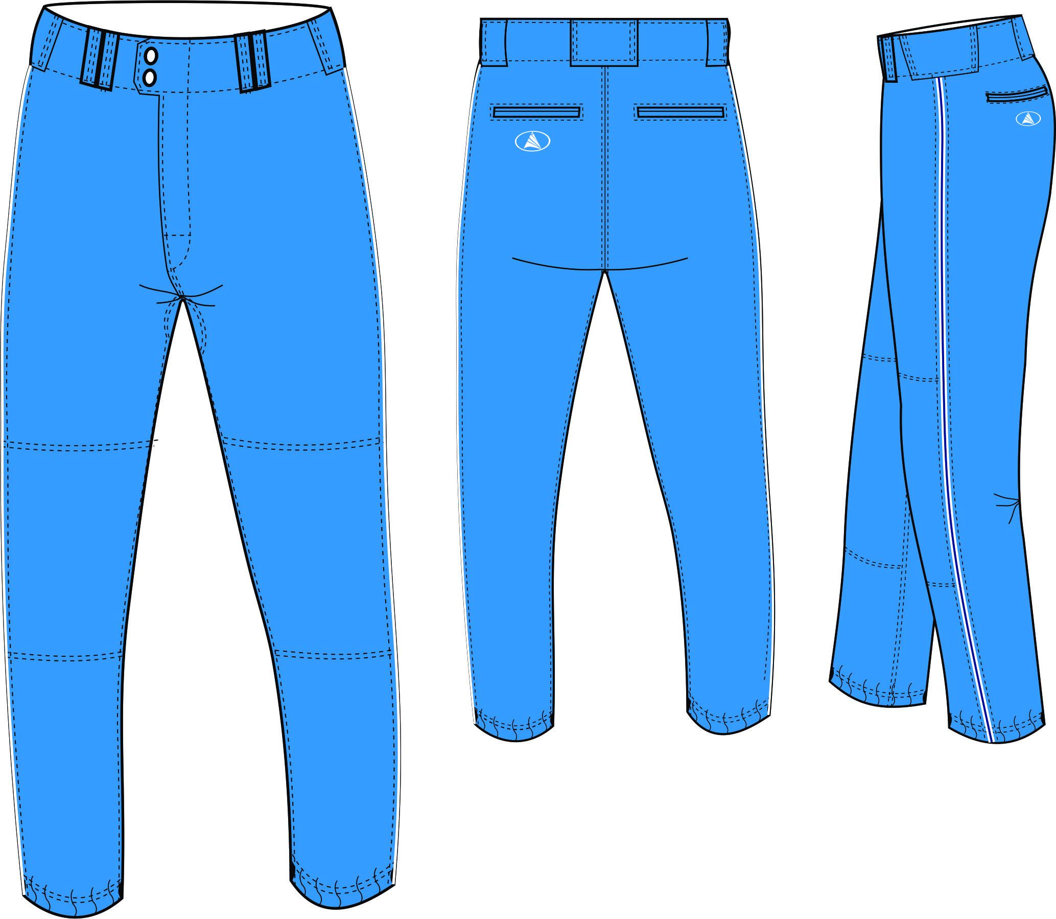 Custom baseball Pant
